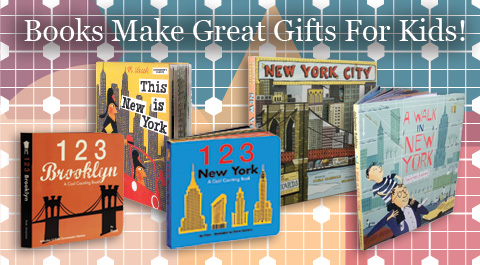 Books Make Great Gifts for Kids!