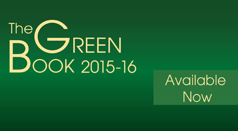 The Green Book 2015-16 Available Now