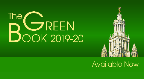 The Green Book 2019-20 Available Now
