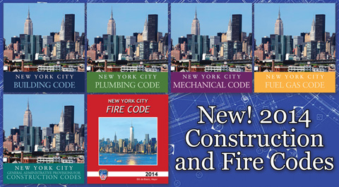 New! 2014 Construction and Fire Codes