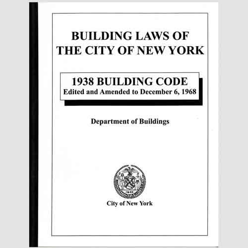 1938 building code edited and amended to december 6 1968