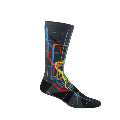 Citystore Subway Map.Vignelli Nyc Subway Map Socks Adult
