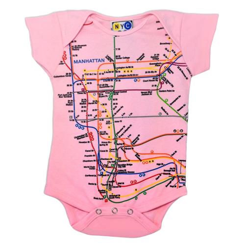 Citystore Subway Map.Subway Map Onesie