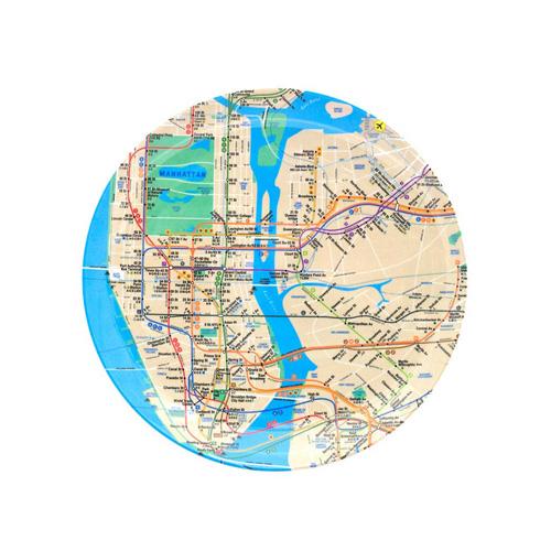 Citystore Subway Map.Subway Map Plate