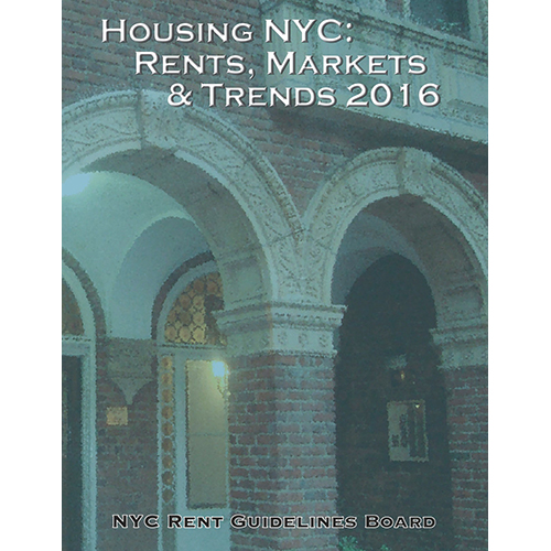 Nyc Rents: Housing NYC: Rent, Market & Trends 2016 Book