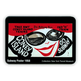 Coney Island MetroCard Holder