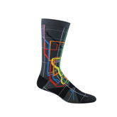 Vignelli NYC Subway Map Socks- Adult