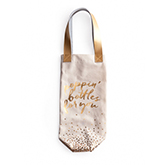 Popping Bottles Wine Tote