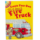 Create Your Own Fire Truck Sticker Book