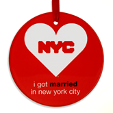 Married in NYC Ornament